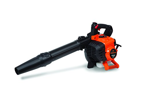 Remington RM2BV Ambush 27cc 2-Cycle Gas Leaf Blower with Vacuum Accessory - Handheld Gasoline Leaf Blower for Lawn Care, Orange