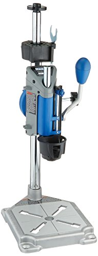 Dremel Drill Press Rotary Tool Workstation Stand with Wrench- 220-01- Mini Portable Drill Press- Tool Holder- 2 inch Drill Depth- Ideal...