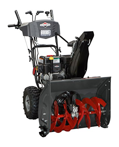 Briggs & Stratton 1696614 24' 2-Stage Snowthrower, 208cc, Black