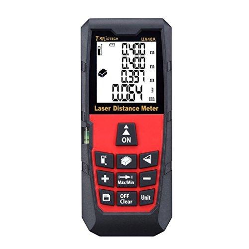 DMiotech DMiotech Laser Distance Measure 131ft 40m Mini Handheld Digital Laser Distance Meter Rangefinder Measurer Tape Diastimeter...