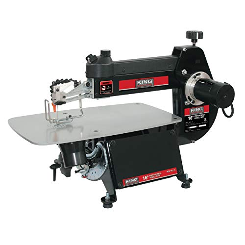 King Industrial 16 Inch Scroll Saw
