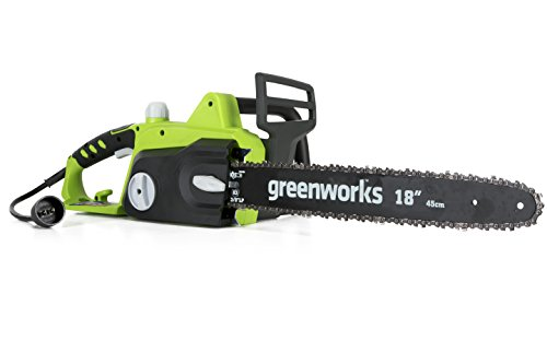 Greenworks 18-Inch 14.5 Amp Corded Electric Chainsaw 20332