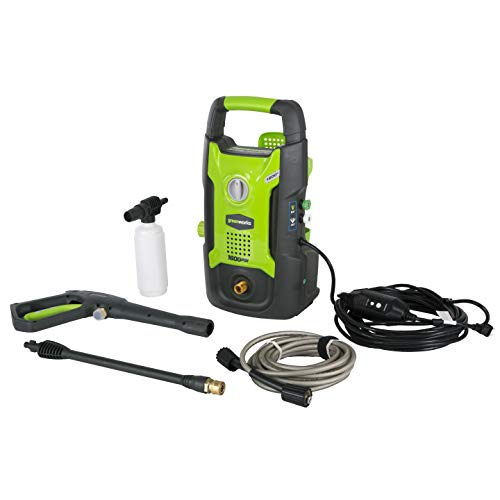Greenworks 1600 PSI 13 Amp 1.2 GPM Pressure Washer GPW1602