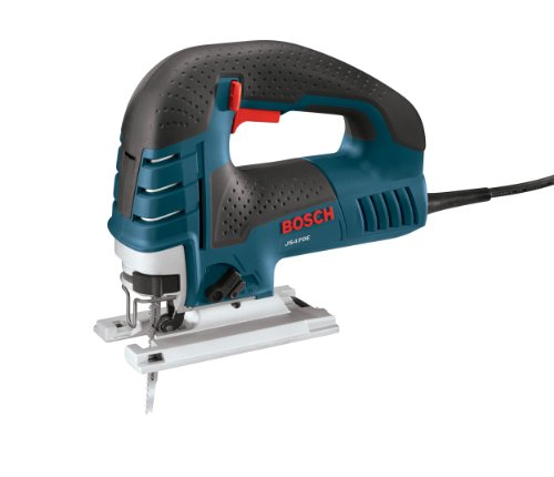 BOSCH Power Tools Jig Saws - JS470E Corded Top-Handle Jigsaw - 120V Low-Vibration, 7.0-Amp Variable Speed For Smooth Cutting Up To...