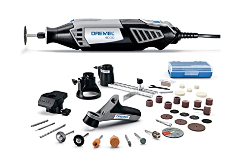 Dremel 4000-4/34 Variable Speed Rotary Tool Kit - Engraver, Polisher, and Sander- Perfect for Cutting, Detail Sanding, Engraving, Wood...