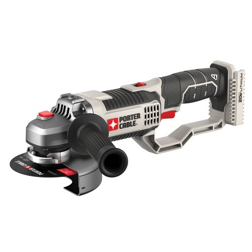 PORTER-CABLE 20V MAX Angle Grinder Tool, 4-1/2-Inch, Tool Only (PCC761B)