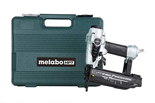Metabo HPT Brad Nailer, Pneumatic, 18 Gauge, 5/8-Inch up to 2-Inch Brad Nails, Tool-less Depth Adjustment, Selective Actuation Switch,...