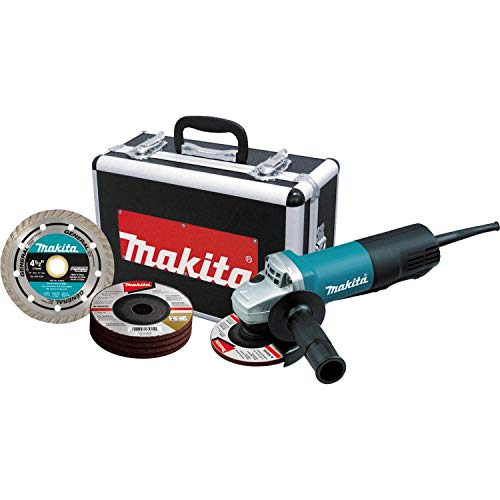 Makita 9557PBX1 4-1/2' Paddle Switch Cut-Off/Angle Grinder