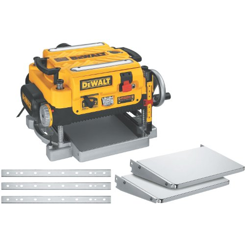 DEWALT Thickness Planer, Two Speed, 13-Inch (DW735X)