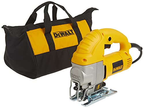 DEWALT Jig Saw, Top Handle, 5.5-Amp, Corded (DW317K)