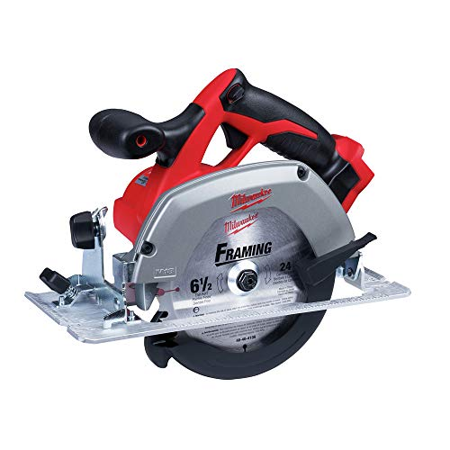 Milwaukee M18 2630-20 18 Volt Lithium Ion 6-1/2' 3,500 RPM Cordless Circular Saw w/ Magnesium Guards and Included 24-Tooth Carbide Wood...