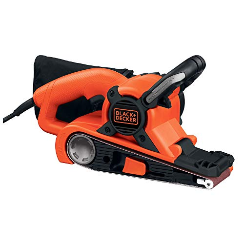 BLACK+DECKER Belt Sander with Dust Bag, 7-Amp, 3-Inch by 21-Inch (DS321)