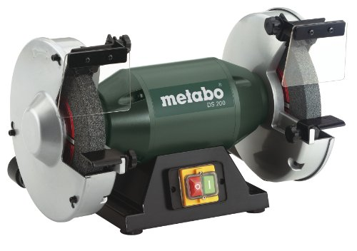 Metabo - 8' Bench Grinder - 3, 570 Rpm - 4.8 Amp (619200420 200), Bench Grinders