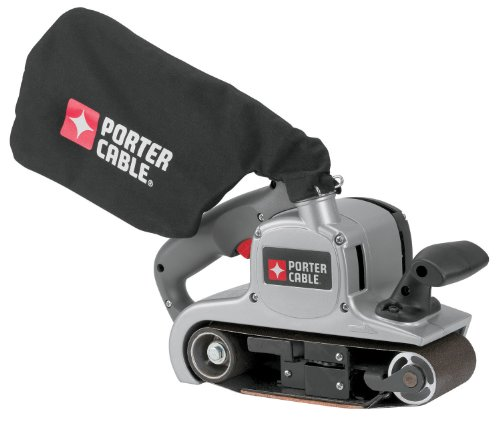 PORTER-CABLE Belt Sander with Dust Bag, Variable-Speed, 8 Amp, 3-Inch-by-21-Inch (352VS)