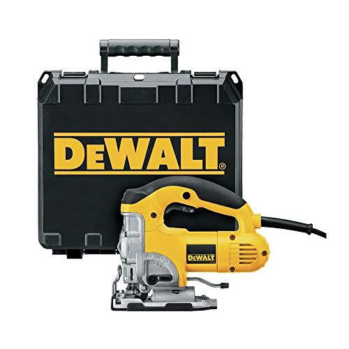 DEWALT Jig Saw, Top Handle, 6.5-Amp, Corded (DW331K)