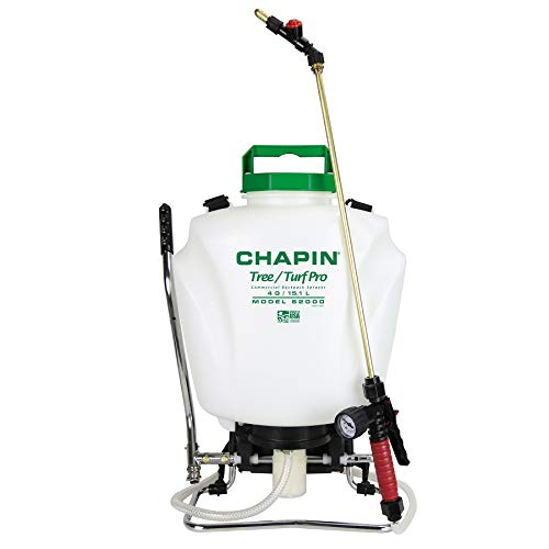 Chapin International 62000 Tree and Turf Pro Commercial Backpack Sprayer with Control Flow Valve Technology for Fertilizer, Herbicides...