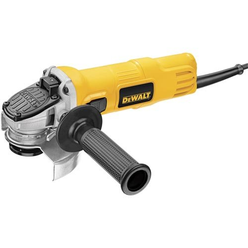 DEWALT Angle Grinder, One-Touch Guard, 4-1/2 -Inch (DWE4011),Yellow,Small