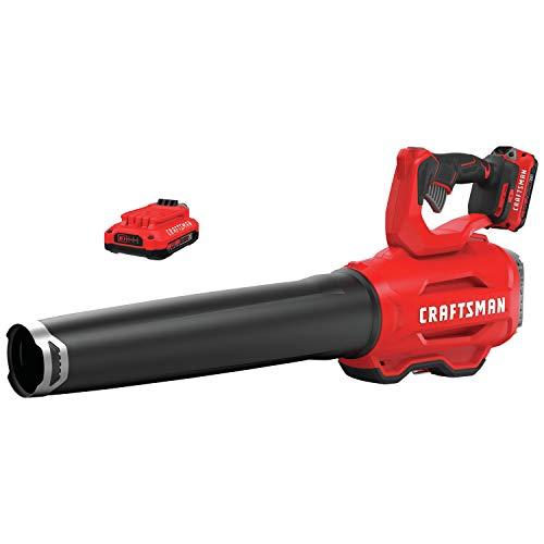 CRAFTSMAN V20 Handheld Blower (CMCBL720D2) , Red