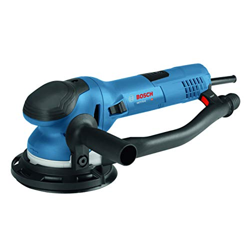 Bosch Power Tools - GET75-6N - Electric Orbital Sander, Polisher - 7.5 Amp, Corded, 6'' Disc Size - features Two Sanding Modes: Random...