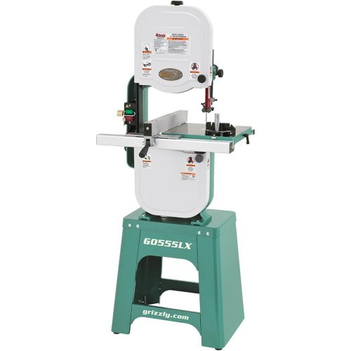 Grizzly G0555LX Deluxe Bandsaw, 14'