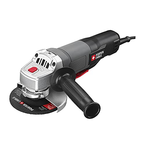 PORTER-CABLE Angle Grinder Tool, 4-1/2-Inch, 7-Amp (PC60TPAG) , Black