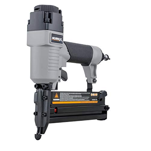 NuMax S2-118G2 Pneumatic 2-in-1 18-Gauge 2' Brad Nailer and Stapler Ergonomic and Lightweight Combo Brad and Staple Gun with Tool-Free...