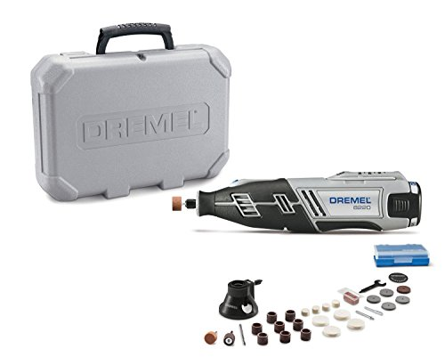 Dremel 8220-1/28 12-Volt Max Cordless Rotary Tool Kit- Engraver, Sander, and Polisher- Perfect for Cutting, Wood Carving, Engraving,...