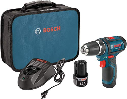 Bosch Power Tools Drill Kit - PS31-2A - 12V, 3/8 Inch, Two Speed Driver, Cordless Drill Set - Includes Two Lithium Ion Batteries, 12V...