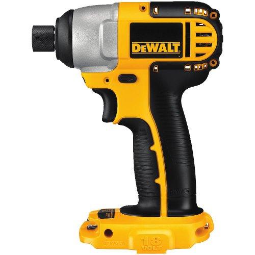 DEWALT 18V Impact Driver, 1/4-Inch, Tool Only (DC825B)