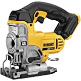 DEWALT 20V Max Jig Saw, Tool Only (DCS331B),Yellow