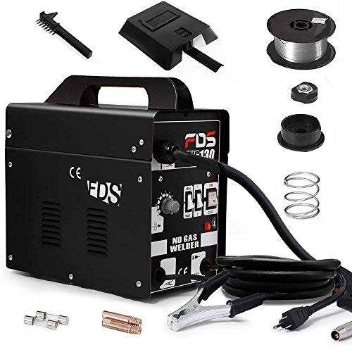 Goplus MIG 130 Welder Flux Core Wire Automatic Feed Welding Machine