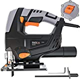 TACKLIFE Classic 5.0 Amp 3000SPM Jigsaw, Variable Speed, Tool-free Blade Changing, Lightweight Design, 10 Feet Cord, Pure Copper Motor,...