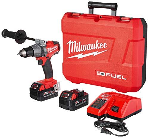 Milwaukee 2704-22 M18 Fuel 1/2' Hammer Drill/Driver Kit