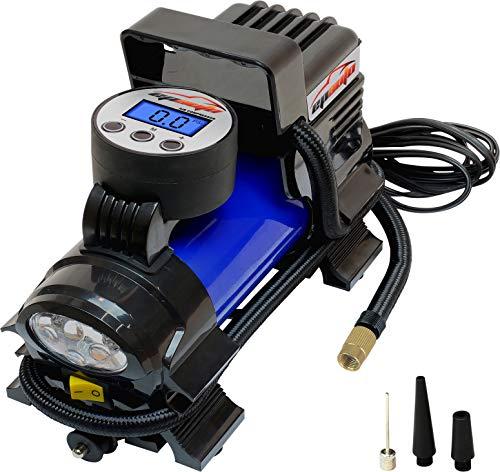 EPAuto 12V DC Portable Air Compressor Pump, Digital Tire Inflator