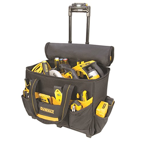 DEWALT DGL571 Lighted Roller Tool Bag, 18 in.