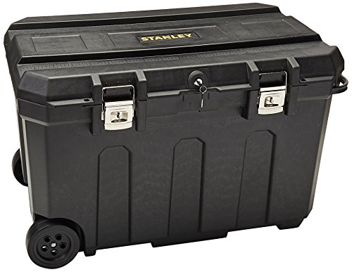 Stanley 037025H 50 Gallon Mobile Chest,Black