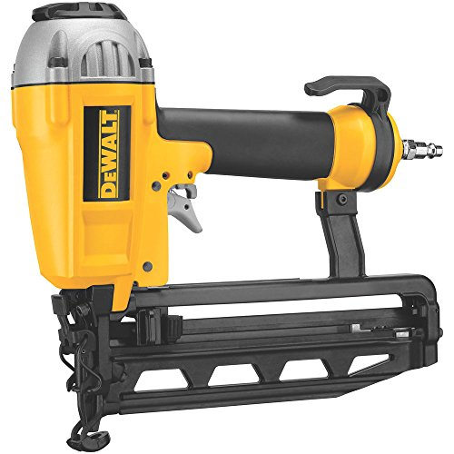 DEWALT Finish Nailer, 16GA, 1-Inch to 2-1/2-Inch (D51257K), DEWALTÃÂ Yellow and Black