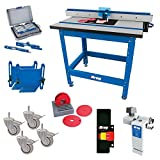 Kreg PRS1045 (KRS1035, PRS1025, PRS1015) Router Table with PRS3090 Caster, PRS3020 True-Flex, PRS3100 Router Table Switch, PRS3400...