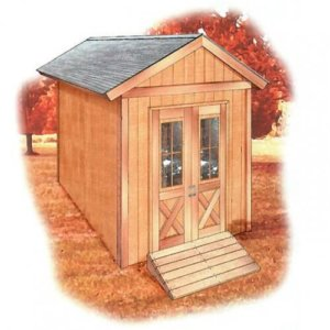 free shed building plans