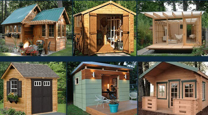 shed building designs