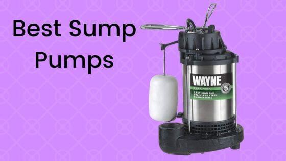 15 best sump pumps