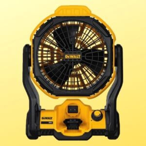 best cordless jobsite fans