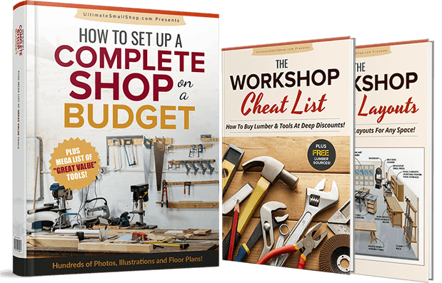 setting up a woodworking shop in small space under $1000