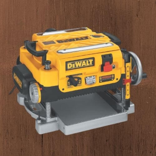 Dewalt DW735X Planer Review