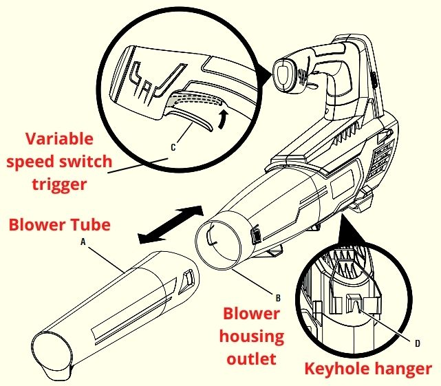 Ryobi P2108A Diagram